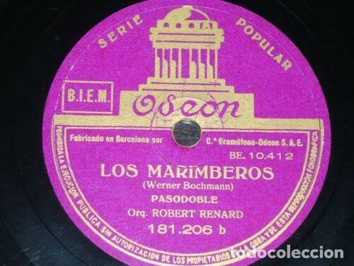 Discos de pizarra: DISCO 78 RPM - ODEON - ORQUESTA ROBERT RENARD - FILM - ORO - JAZZ ALEMAN - RARO - PIZARRA - Foto 2 - 154164922