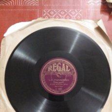 Discos de pizarra: DISCO DE GRAMOFONO DE JOSE MARTÍNEZ (BOTON). Lote 154343820