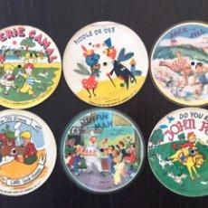 Discos de pizarra: LOTE DE 6 DISCOS (78 RPM) PARA GRAMOLA. Lote 154400333