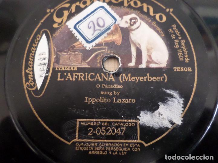 Discos de pizarra: DISCO LA FAVORITA Y L AFRICANA PIZARRA - Foto 3 - 154468534