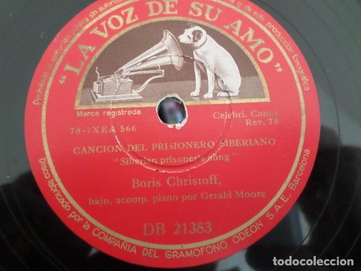 Discos de pizarra: DISCO CANCION DEL PRISIONERO LA TUMBA - Foto 3 - 154469010