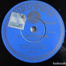 Discos de pizarra: JOSÉ MIRET - LA PEDRADA (GABRIEL Y GALÁN) 1ª PARTE / 2ª PARTE - PARLOPHON B. 25.546. Lote 154491630