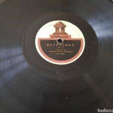 Discos de pizarra: DISCO 78 RPM EL MOCHUELO. Lote 154775262