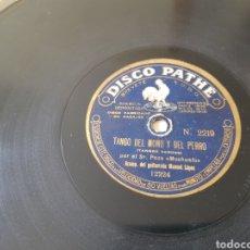 Discos de pizarra: DISCO 78 RPM EL MOCHUELO. Lote 154775462