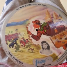 Discos de pizarra: 78 RPM VOGUE JOAN EDWUARS. Lote 154784168