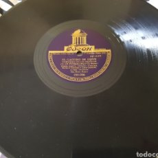 Discos de pizarra: DISCO 78 RPM ASTURIAS. GAITERO. Lote 154829801