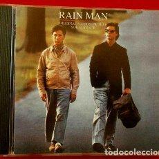 Discos de pizarra: BSO - RAIN MAN (CD. 1993) BANDA SONORA ORIGINAL DE LA PELICULA DE 1988. Lote 154865190