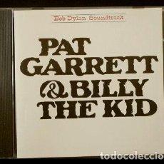 Discos de pizarra: BSO - PAT GARRET & BILLY THE KID (CD. 1973) BANDA SONORA DE LA PELICULA - BOB DYLAN. Lote 154865406