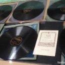 Discos de pizarra: AIDA VERDI 6 DISCOS SELECCION SCALA DE MILAN. Lote 155483534