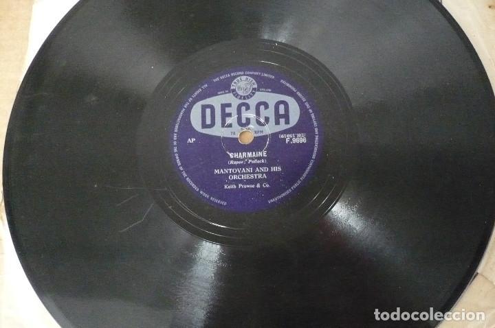MANTOVANI AND HIS ORCHESTA (Música - Discos - Pizarra - Jazz, Blues, R&B, Soul y Gospel)
