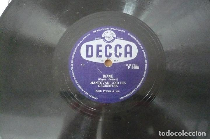 Discos de pizarra: mantovani and his orchesta - Foto 2 - 155483946