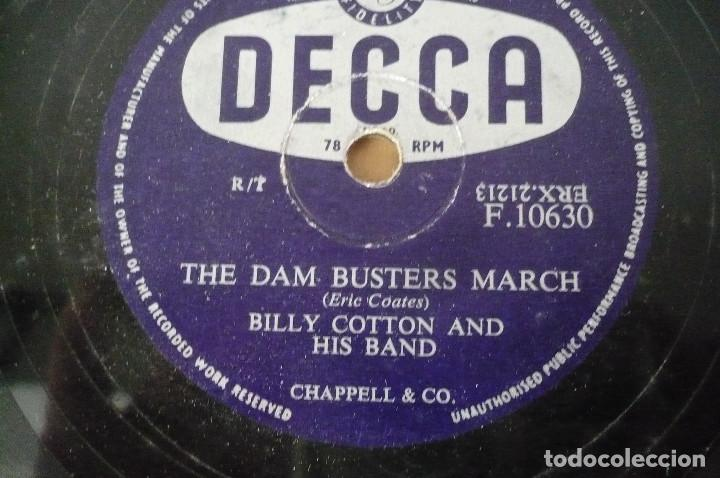 Discos de pizarra: billy cotton and his band - Foto 2 - 155484430