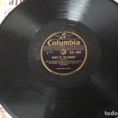 Discos de pizarra: EDDIE CALVET THE MAN WITH THE GOLDEN TRUMPET DISCO PIZARRA. Lote 155486290