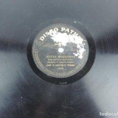 Discos de pizarra: DISCO DE PIZARRA, CECILIO NAVARRO, JOTAS MODERNAS Y ZARAGOZANAS ANTIGUAS, PATHE 2002, TAL COMO SE VE. Lote 155666466