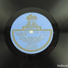 Discos de pizarra: DISCO DE PIZARRA, JOSE OTO, JOTA MAS TOZUDO FUE MI ABUELO, JOTA ARAGONESA LA BURRA, ODEON 182.937 TA. Lote 155667390