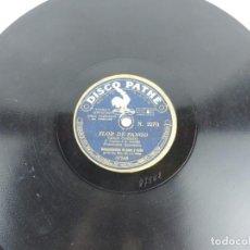 Discos de pizarra: DISCO DE PIZARRA TANGOS, FRANCISCO SPAVENTA, FLOR DE FANGO Y LA PROVINCIANA, PATHE 2270. Lote 155671070