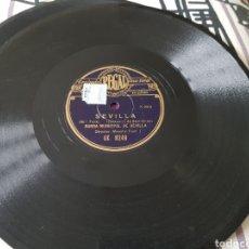 Discos de pizarra: DISCO 78 RPM SEVILLA SALGA EL TORO. Lote 155786705