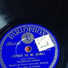Discos de pizarra: GRANA DE MI ARMA! PASODOBLE TORERO. Lote 155834201
