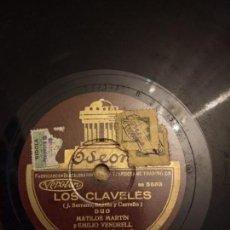 Discos de pizarra: EMILIO VENDRELL LOS CLAVELES. Lote 155880026