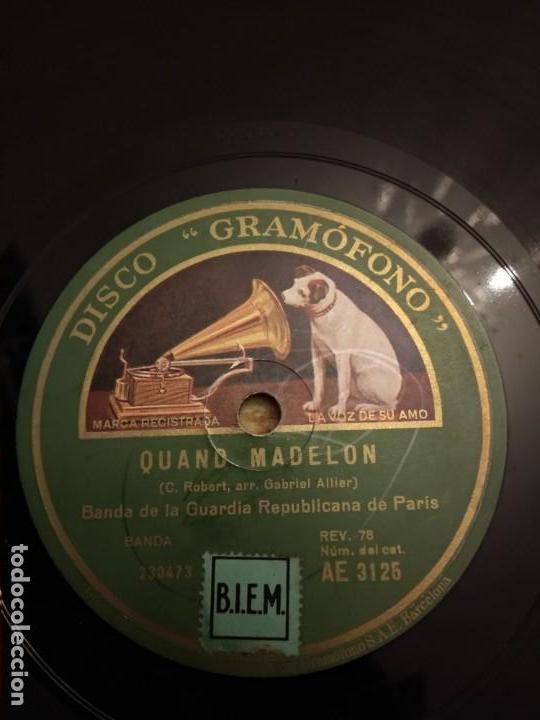 Discos de pizarra: Banda de la Guardia Republicana Paris - Foto 3 - 155885950
