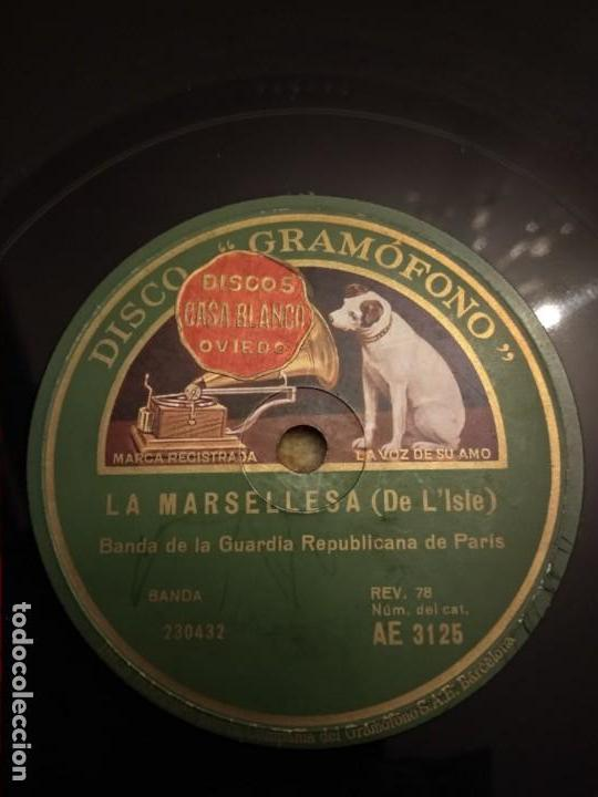 BANDA DE LA GUARDIA REPUBLICANA PARIS (Música - Discos - Pizarra - Solistas Melódicos y Bailables)