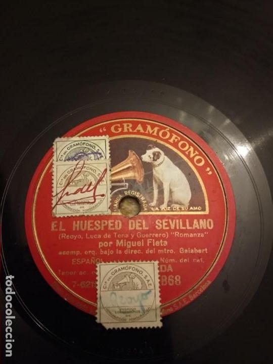 Discos de pizarra: Miguel Fleta - Foto 4 - 155886670