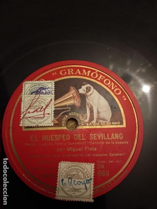 MIGUEL FLETA (Música - Discos - Pizarra - Clásica, Ópera, Zarzuela y Marchas)