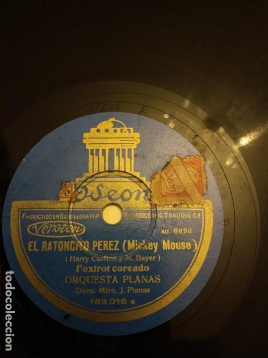 EL RATONCITO PÉREZ MICKEY MOUSE (Música - Discos - Pizarra - Solistas Melódicos y Bailables)