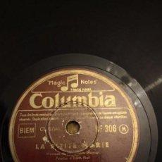 Discos de pizarra: EDITH PIAF. Lote 155887370