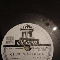 Discos de pizarra: JOSÉ VALERO. Lote 155887646