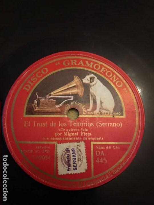 Discos de pizarra: Miguel Fleta - Foto 4 - 155894262