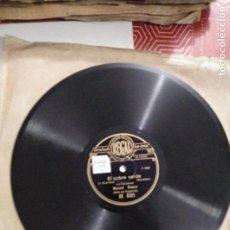 Discos de pizarra: DISCO DE GRAMÓFONO EL SOBRE VERDE / CHATEAUX MARGAUX. Lote 156003794