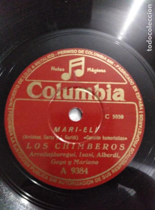 Discos de pizarra: Disco de gramófono LOS CHIMBEROS - Foto 4 - 156004290