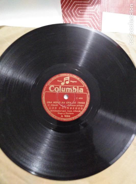 Discos de pizarra: Disco de gramófono LOS CHIMBEROS - Foto 3 - 156004290