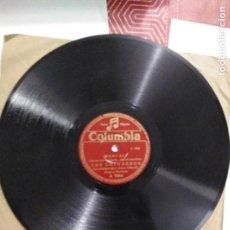 Discos de pizarra: DISCO DE GRAMÓFONO LOS CHIMBEROS. Lote 156004290