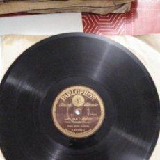 Discos de pizarra: DISCO DE GRAMÓFONO DE JUAN GARCIA. Lote 156022714