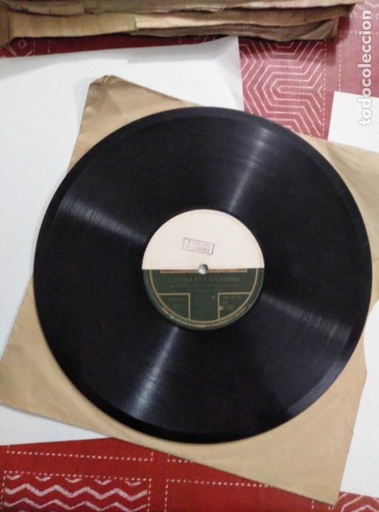 Discos de pizarra: Disco de gramófono disco de muestra - Foto 3 - 156024602