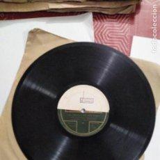 Discos de pizarra: DISCO DE GRAMÓFONO DISCO DE MUESTRA. Lote 156024602
