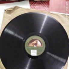 Discos de pizarra: DISCO DE GRAMÓFONO EL DEBUT DE SIMEON / CLASE DE GRAMATICA. Lote 156026266