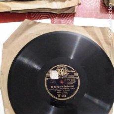 Discos de pizarra: DISCO DE GRAMÓFONO EL TENIENTE SEDUCTOR / ROSES DU MIDI. Lote 156027114