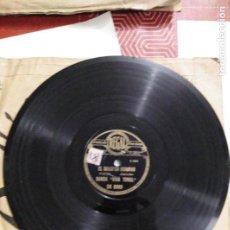 Discos de pizarra: DISCO DE GRAMÓFONO BANDA VIVA TONAL. Lote 156028022