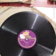 Discos de pizarra: DISCO DE GRAMÓFONO CADIZ / ESTUDIANTINA. Lote 156028326