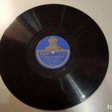 Discos de pizarra: DISCO 78 RPM - ODEON - TRIO FERERA - HAWAII - INSTRUMENTOS HAWAIANOS - CAROLINA MOON - PIZARRA. Lote 156030110