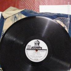 Discos de pizarra: DISCO DE GRAMÓFONO CELOS /SOMBRA DE REBECA. Lote 156032178