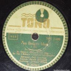 Discos de pizarra: DISCO 78 RPM - TONO - VERMEHREN - MORTENSEN - HAWAIIAN SONG - DENMARK - RARO - PIZARRA. Lote 156034638