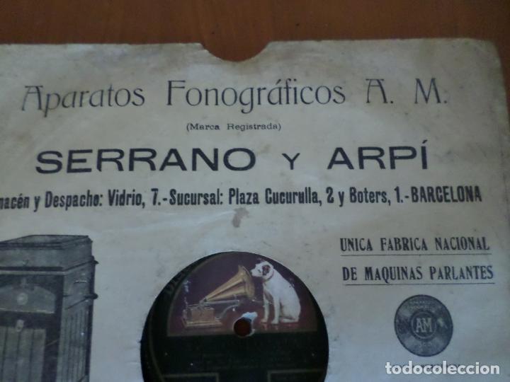 Discos de pizarra: DISCO LA CHACERA Y AY PALOMITA PIZARRA - Foto 2 - 156519162