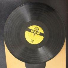 Discos de pizarra: DISCO PIZARRA CANTANDO BAJO LA LLUVIA + ERES MI BUENA ESTRELLA. GENE KELLY. M.G.M.. Lote 156982921