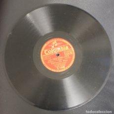 Discos de pizarra: DISCO PIZARRA EDMUNDO ROS Y SU ORQUESTA CUBANA. LOS TRES CABALLEROS. COLUMBIA. Lote 156984484