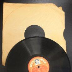 Discos de pizarra: DISCO PIZARRA ANNY GOULD. DOMINOY PLAZA VENDOME. DECCA. Lote 156985113