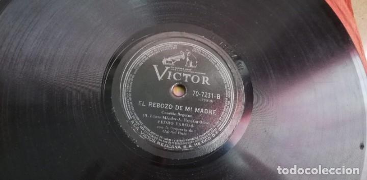 Discos de pizarra: Pizarra - Pedro Vargas Con La Orquesta De Gabriel Ruiz - Madrigal Mexícano - Edición Mexicana - Foto 4 - 142321370